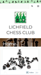 Mobile Preview of lichfieldchess.org.uk